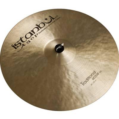 "Istanbul Agop 20"" Traditional Medium Ride Cymbal"