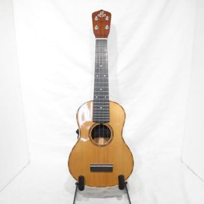 LoPrinzi Herb Ohta Signature Model Concert Ukulele with Case for sale
