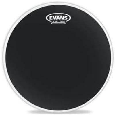 Evans Hydraulic Black Drum Head - 12 Inch