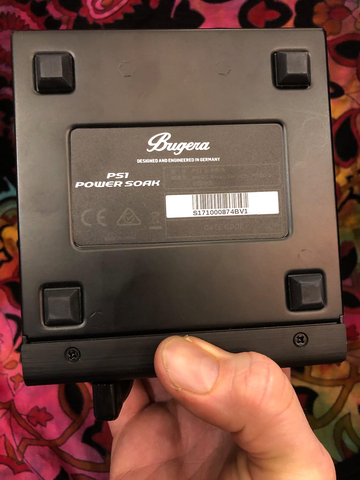 Bugera Ps1 Power Soak Amp Attenuator 2017