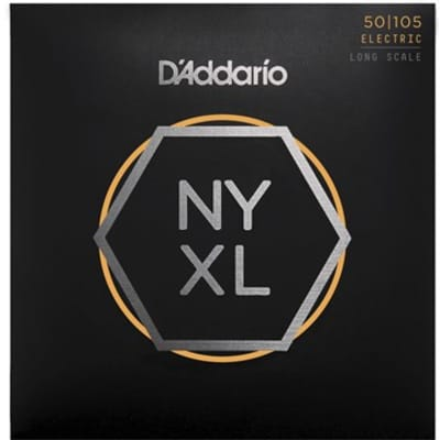 D'Addario NYXL50105 Medium Long Scale Bass Strings .050-.105