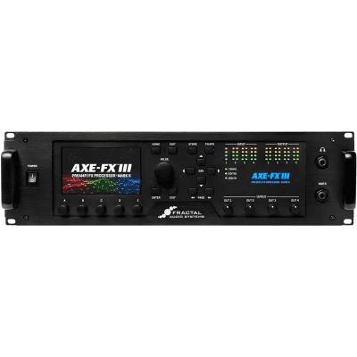 Fractal Audio Axe-FX III Preamp Effects Processor
