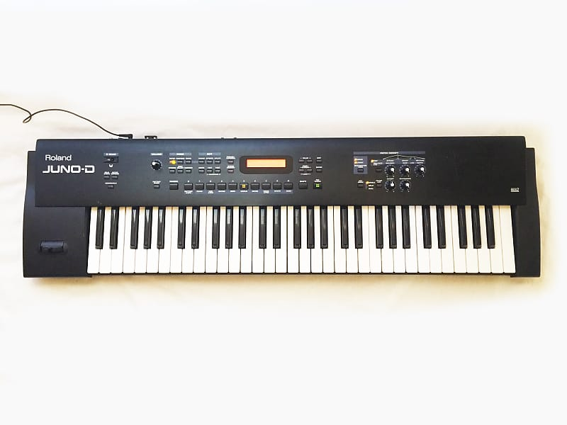 ROLAND JUNO-D Synthesizer  MIDI SOUND MODULE ONLY  Sounds Great ! Keyboard  Not Working !!!