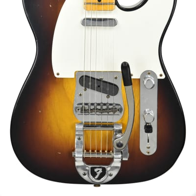 Fender Custom Shop LTD Twisted Tele Journeyman Relic in Wide Fade 2 Tone Sunburst CZ537450 for sale