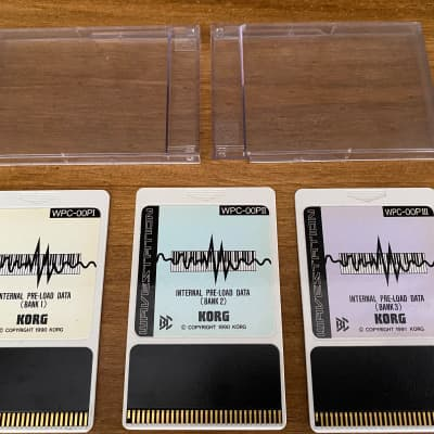 Korg Wavestation WPC data cards