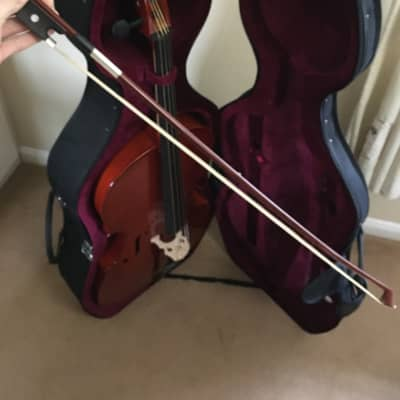 Gear4music Student Full Size Cello with Case 2018 for sale