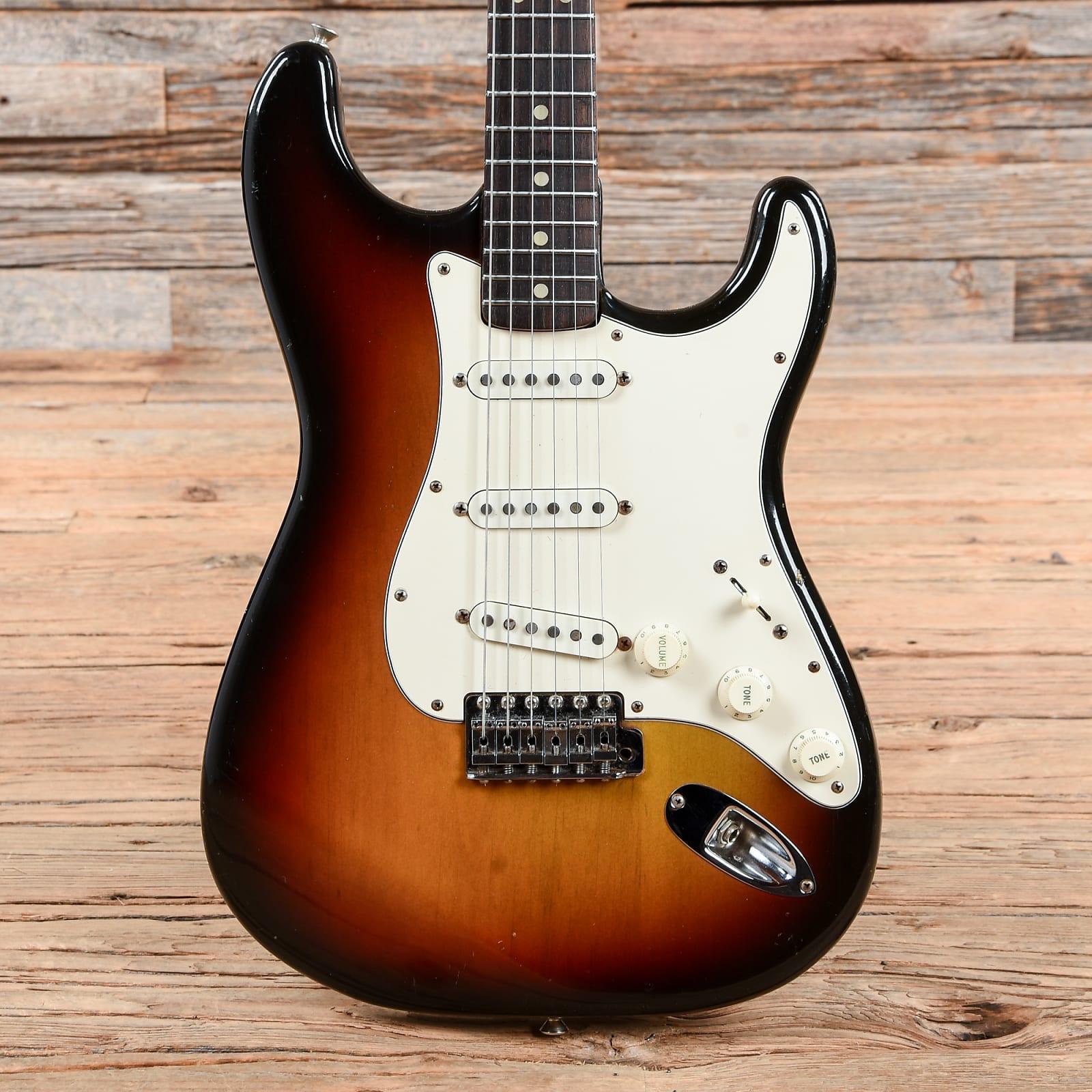 Fender Stratocaster Sunburst 1972