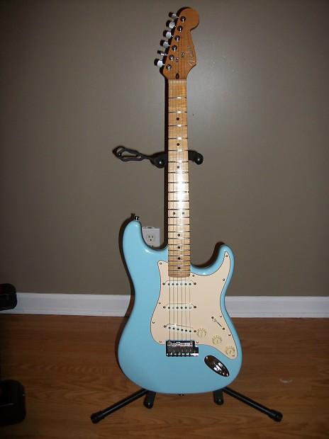 Fender American Standard Stratocaster 1995 Baby Blue Reverb