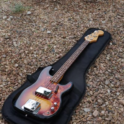 Kingston Jazz Bass 1970's Sunburst for sale