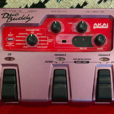Akai HV1 Duo Buddy harmony processing unit harmonizer pitch shifter octave generator effect pedal for sale