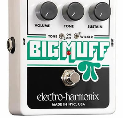 Electro Harmonix Big Muff Pi with Tone Wicker for sale