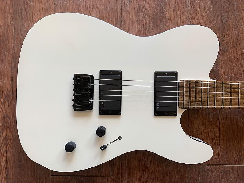 esp ltd te 406 electric guitar lte406sws snow white reverb. Black Bedroom Furniture Sets. Home Design Ideas