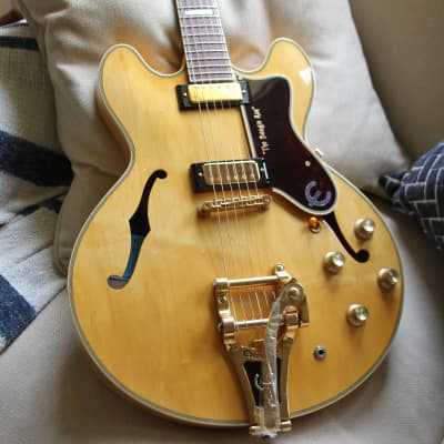 Epiphone 1964 John Lee Hooker JLH The Boogie Man SHERATON Bigsby PROTO Japan Terrada MIJ  Natural for sale