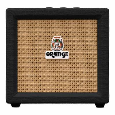 Orange Amps Crush Mini Combo Guitar Amplifier 9V Battery-Powered 3W 8-ohm Black
