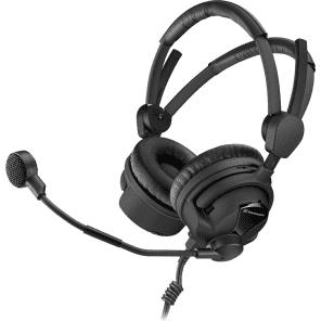 Sennheiser HMD26-II-600-8 Dynamic Dual Sided Broadcast Headset (600 Ohm/Unterminated)