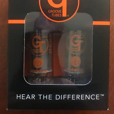 Groove Tubes GT-EL84-R Power Tubes - Matched Pair Medium (6)