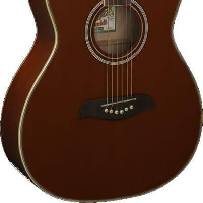 Oscar Schmidt OAM Auditorium Size Mahogany Top & Neck 6-String Acoustic Guitar