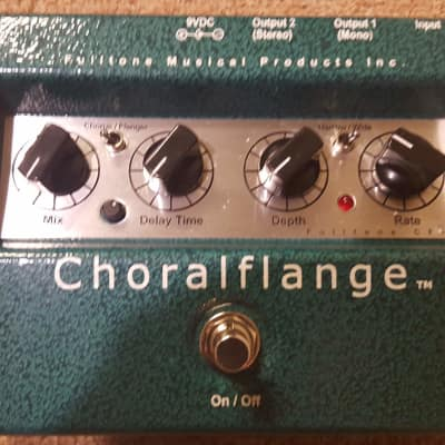 Fulltone Choralflange 2006 Green/Silver image