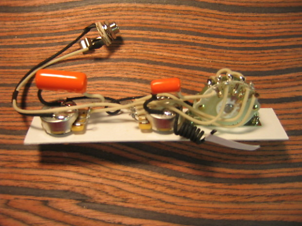 k d paulus guitar parts wiring harness for esquire 4 way reverb. Black Bedroom Furniture Sets. Home Design Ideas