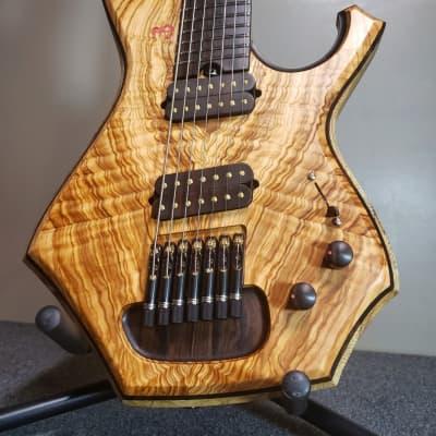 Barlow Guitars Condor 2020 Olivewood / Ziricote for sale