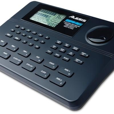 ALESIS SR16Drum Machine, with 12 Pads, 24-bit Sound Engine, 233 Sounds, 50 Preset Patterns