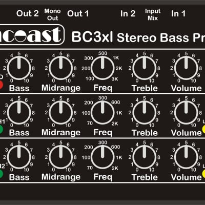 Suncoast BC-3 XL Bass Preamp *NEW *Designed with Billy Sheehan *Arriving June 15th!!!
