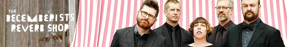 The Decemberists Official Reverb Shop