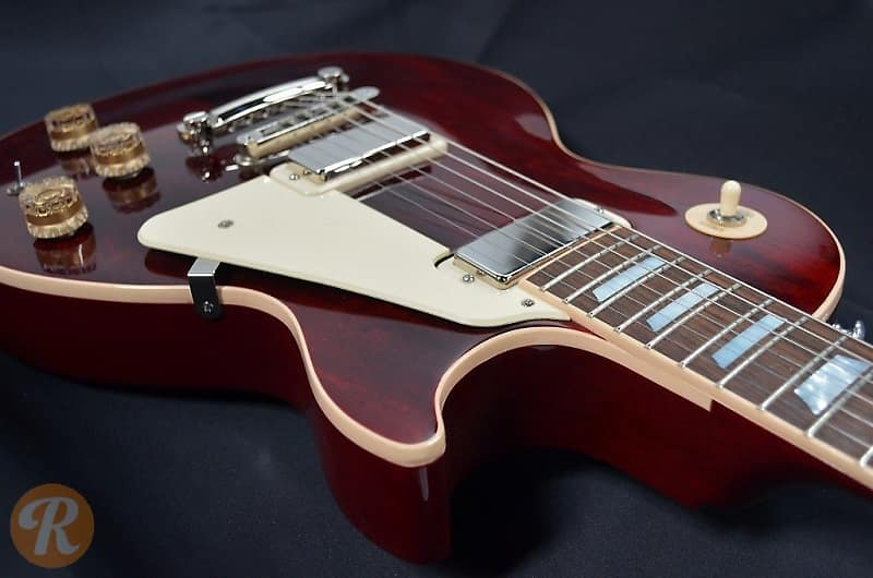 Gibson Les Paul Deluxe 2015 Wine Red Price Guide | Reverb