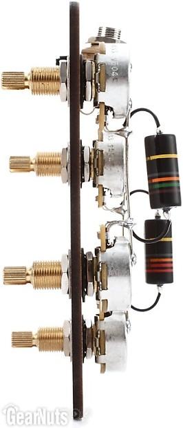 Emerson Les Paul Wiring Harness : Emerson custom prewired kit for gibson les paul guitars