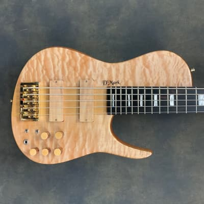 DMark Omega Natural Quilted Maple 5 String