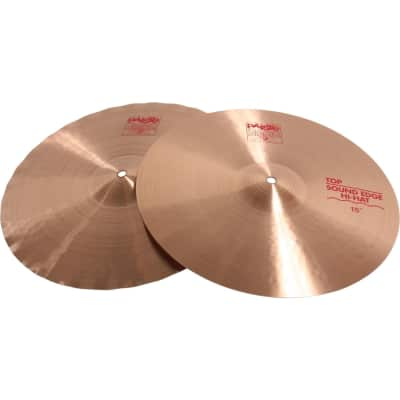 "Paiste 15"" 2002 Sound Edge Hi-Hat Cymbals (Pair) Traditional"