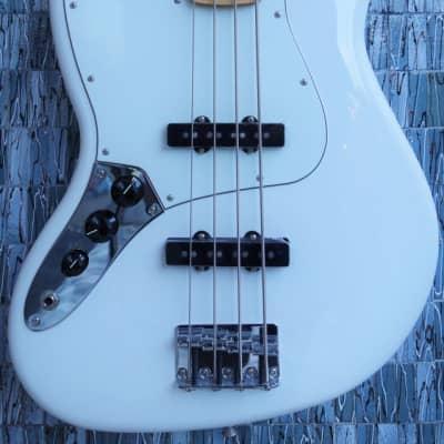 Fender Player Series Jazz Bass Left-Handed, Polar White for sale