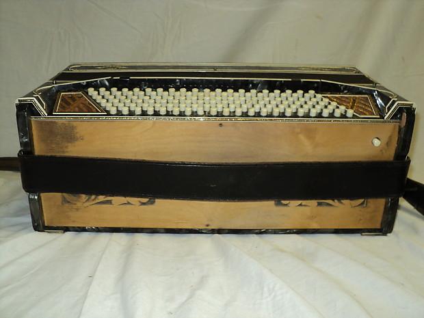 Vintage Enrico Bertini Special Model Accordion 41 120 Reverb