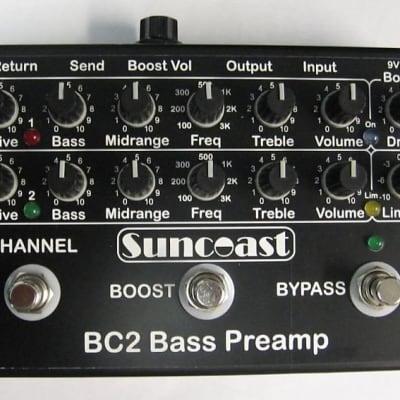 Suncoast BC-2 Bass Preamp *NEW VERSION ETA=June-July 2021  !