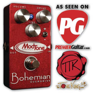 Modtone MT-DB Bohemian Overdrive Effects Pedal for sale