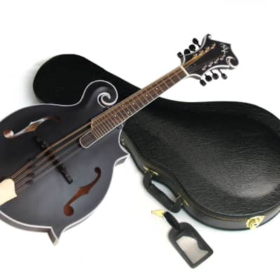MICHAEL KELLY Legacy Satin Black Out acoustic MANDOLIN new Blem Special w/ CASE for sale