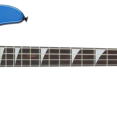 Jackson JS Series Concert Bass, Metallic Blue