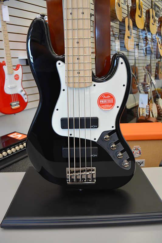 Squier Contemporary Active Jazz Bass HH V - Black