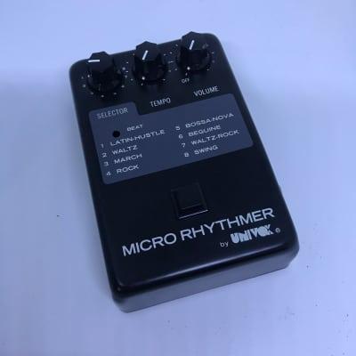 Univox MR-8 Micro Rhythmer Drum Machine 80's  in Box As New