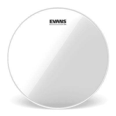 """Evans TT15G2 G2 Clear Drum Head - 15"""""""
