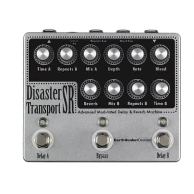 EarthQuaker Devices Disaster Transport Sr. - Advanced Modulated Delay & Reverb Machine for sale
