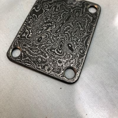 Scott Walker Damascus Neck Plate for sale