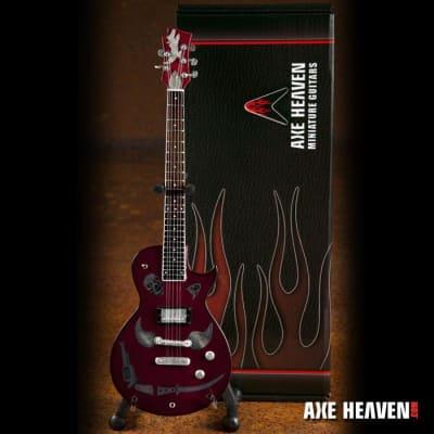dd2d156208a Axe Heaven Keith Richards 1981 Zemaitis Macabre Mini Guitar Replica  Collectible