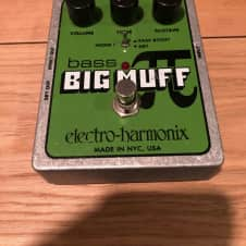 Electro Harmonix Bass Big Muff 2011 Green