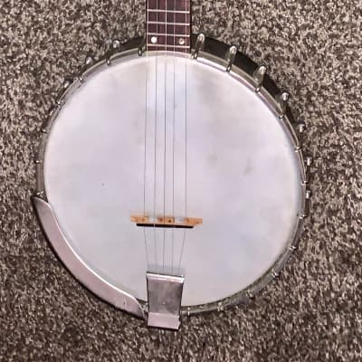 Vintage 1975 Gibson Rb 175 long neck banjo with headstock repair 1975 for sale