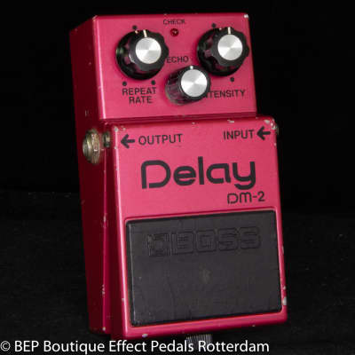 Boss DM-2 Delay 1982 s/n 220500 with MN3205 BBD and MN3102 Clockdriver Japan