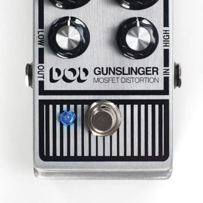 DigiTech DOD Gunslinger Mosfet Distortion Guitar Effects Pedal   image