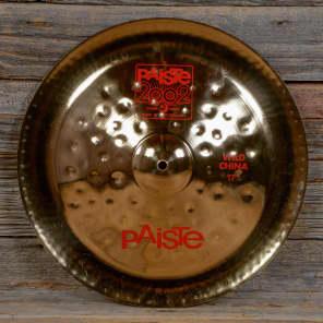 """Paiste 17"""" 2002 Wild China Cymbal"""