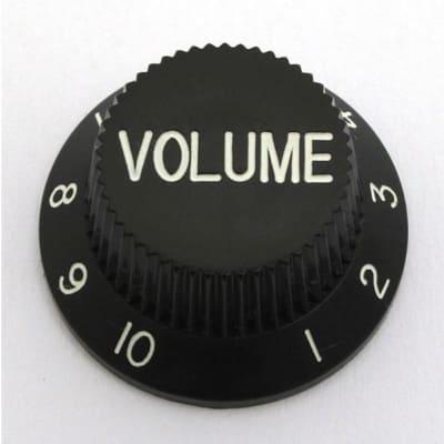 GÖLDO MUSIC KBSVB Volume-Knopf für Strat / schwarz for sale