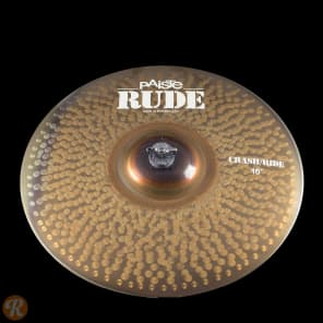"Paiste 16"" RUDE Crash/Ride Cymbal"